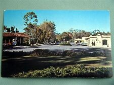 Town View RANCHO SANTA FE CALIFORNIA CA Vintage Postcard Cars