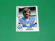 PANINI FOOTBALL FOOT 90 N°208 DIDIER NOTHEAUX FC MULHOUSE ALSACE 1989-1990