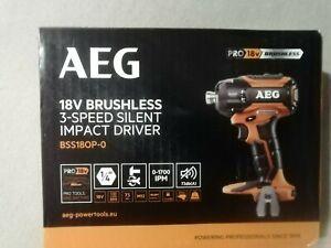 Visseuse à choc sans fil AEG Bss18op-0 18 V , sans batterie. Neuve