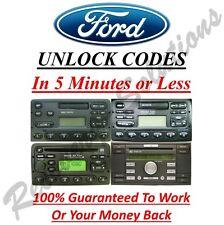 Ford Radio Unlock Code 3000 4000 4500 5000 6000 RDS EON  - M & V Serial