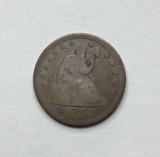 1851 Seated Liberty Quarter - Rare Philadelphia Mintage!