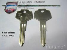 Key Blank fits Vintage Datsun Nissan Subaru 70's 80's  (DA25) See Code Series