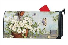 Studio M Petunias on Pulley MailWrap Mailbox Cover