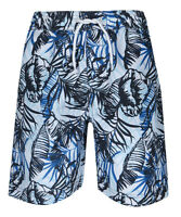 Boys Long Beach Swim Printed Swimming Board Shorts Age 2-13  Elasticated Waist