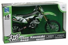 New Ray 49493 1:6 Racing Dirt Bike Kawasaki Two Two KX450F (C6b)