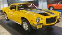 1971 Chevrolet Camaro Z28 Yellow Maisto 1:18 Scale Diecast Model Car New in Box