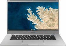 """New listing Samsung Chromebook 4+ 15.6"""" (32GbeMmc, Intel Celeron, 1.1Ghz, 4Gbram) - Platinum"""