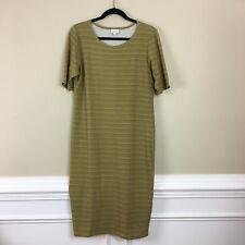 LuLaRoe Short Sleeves Blue Gray Dress XL