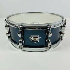 "14"" x 5'5"" Premier Cabria Snare Drum | 8 Lug | Blue | Winged Badge #SD308"