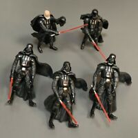 5X Star Wars 2001 Darth VADER clone wars trooper 3.75''  Action Figure Toys Gift