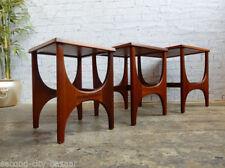 G Plan Wood Veneer 3 Nested Tables