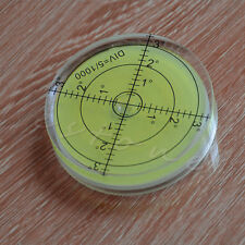 Spirit Bubble Level Degree Mark Surface Round Circular Measuring 66*10mm