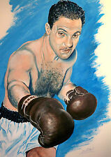 Rocky Marciano by David Putland - A3 Limited edition Prints - Boxing Art