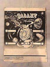 Stern Galaxy Pinball Manual