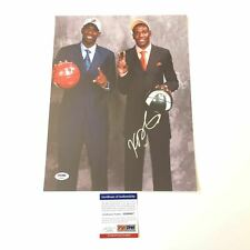 Kevin Durant signed 11x14 photo PSA/DNA Seattle Super Sonics Autographed