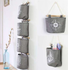 3 Tasche Hängeaufbewahrung Hängeorganizer Wandschrank Wand Tür Beutel Organizer
