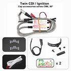 Rcexl Electronic Twin Ignition CDI for NGK ME-8 1/4 -32 90 Degree + Hall Sensor