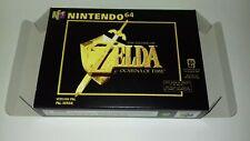 The Legend of Zelda Ocarina of Time - PAL  - Nintendo 64 - N64 - Only Box