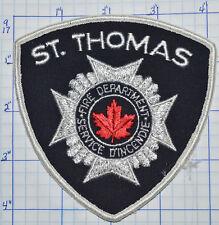 CANADA, ST. THOMAS FIRE DEPT SERVICE D'INCENDIE ONTARIO PATCH