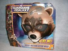 Rocket Raccoon Action Mask Mouth Ears Marvel Hasbro Guardians Galaxy 2013 New