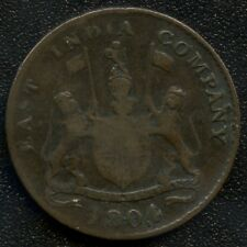 1804 East India Company Half Pice Coin