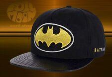 New DC Comics Batman Mens Active Chrome Snapback Cap Hat
