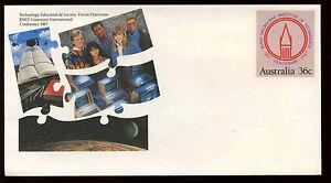 Australia Technology Education & Society Pre-Paid Envelope Cover Unused #C12713
