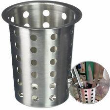 Kitchen Cutlery Holder Cup Silverware Flatware Utensil Drainer Organizer Basket