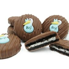 Philadelphia Candies Blue Stork (It's a Boy!) Milk Chocolate OREO® Cookies Gift
