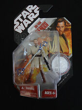 Star Wars *OBI WAN KENOBI *30th Anniversary #05 Action Figure *NEW Silver ROTS