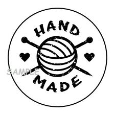 """30 HAND MADE ENVELOPE SEALS LABELS STICKERS 1.5"""" ROUND GIFTS HANDMADE"""