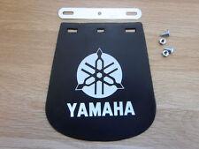 Garde-boues et passages de roue noirs pour le côté avant pour motocyclette Yamaha