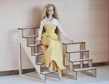 Set 2 STAIRS for dolls 1:4 1/4 18 inches BJD Cami Furniture NEW Diorama