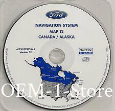 05 2006 07 FORD ESCAPE HYBRID XLT SPORT NAVIGATION MAP DISC CD 3V CANADA ALASKA