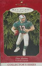 Hallmark Ornament Dan Marino Miami Dolphins Christmas Holiday Football NFL 1999