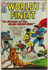 WORLD'S FINEST COMICS #124 (DC) MARCH 1962 - VG (4.0)
