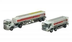 Tomytec The Truck / Trailer Collection ENEOS Tank truck Set Diorama Supplies