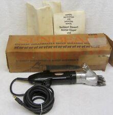 Sunbeam Stewart Shearmaster Ew311a Professional Animal Sheep Shears Machine Box