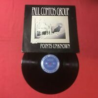 Paul Contos Group – Points Unknown :30i Quiex II Audiophile Vinyl (EX+) COPY