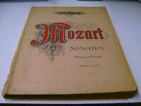 19 MOZART SONATEN Klavier und Violine v. Artur SCHNABEL und Carl FLESCH