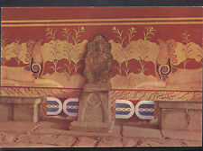 Greece Postcard - Knossos - The Throne of Minos  LC5061