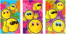 Emoji style smiley face mini notepads birthday party loot favour bag fillers⭐⭐⭐⭐