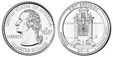 2010 P US Hot Springs Arkansas America The Beautiful Quarter Dollar - 2 BU Coins