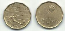 ARGENTINA 50 Pesos 1978 Mundial de Futbol