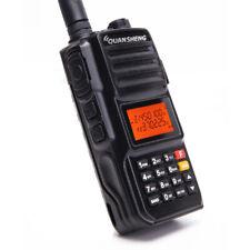 2pcs Quansheng TG-UV2 PLUS Walkie Talkie 136-174/Police 350-390/400-470MHz Radio