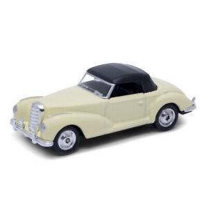 "1955 Mercedes-Benz 300S W188 Beige Welly 1:60 1:64 No. 52302 3"" inch Toy Car"