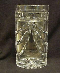 "Vintage 8"" Waterford lead Crystal Overture Vase  Signed"