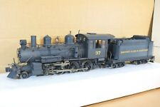 BACHMANN SPECTRUM RADIO CONTROL G GAUGE WEATHERED 4-6-0 LOCOMOTIVE 37 np