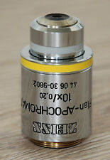 Zeiss Mikroskop Microscope Objektiv Plan-APOCHROMAT 10x/0,20