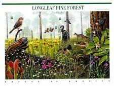 US # 3611 Miniature sheet of 10 Longleaf Pine Forest - MNH - USPS Sealed,  2002